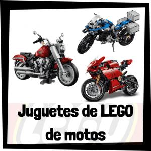 Juguetes de LEGO de modelos de motos