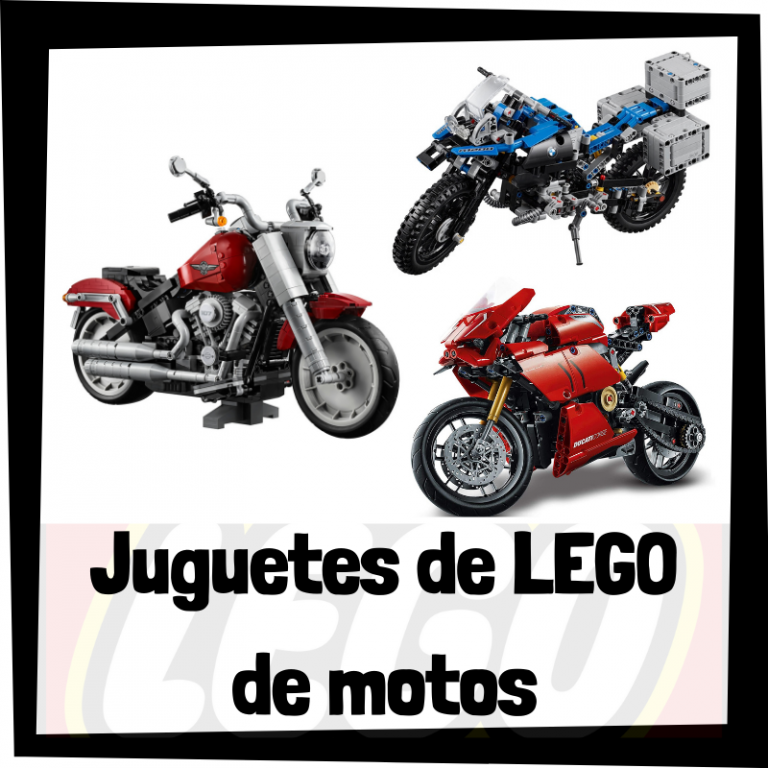Lee más sobre el artículo Juguetes de LEGO de modelos de motos