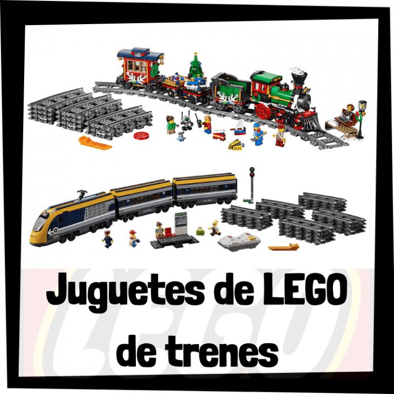 Lee más sobre el artículo Juguetes de LEGO de trenes