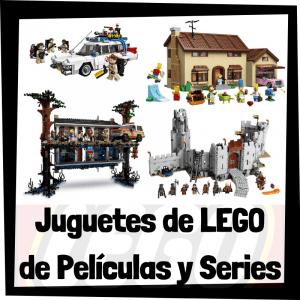 Juguetes de LEGO de películas y series - Sets de lego de construcción de modelos de películas y series