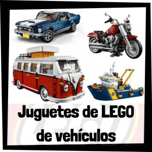 Juguetes de LEGO de vehículos - Sets de lego de construcción de modelos de medios de transporte