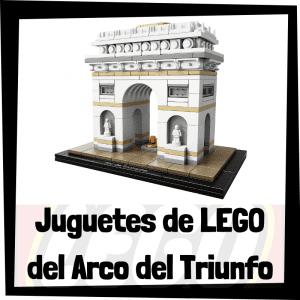 Juguetes de LEGO del Arco del Triunfo