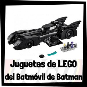 Juguetes de LEGO del Batmóvil de Batman - Batmobile de Batman