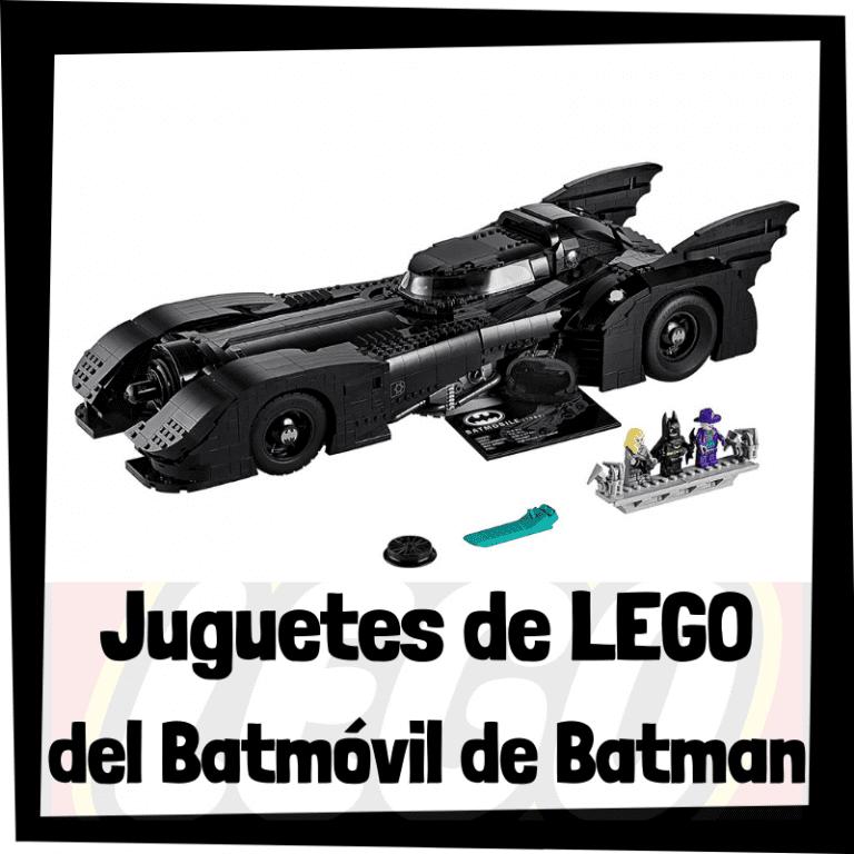 Lee más sobre el artículo Juguetes de LEGO del Batmóvil de Batman – Batmobile de Batman