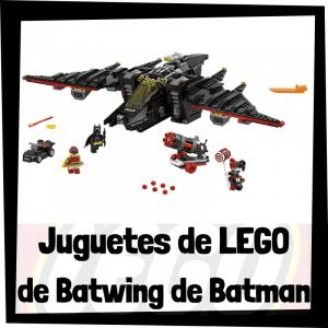Juguetes de LEGO del Batwing de Batman