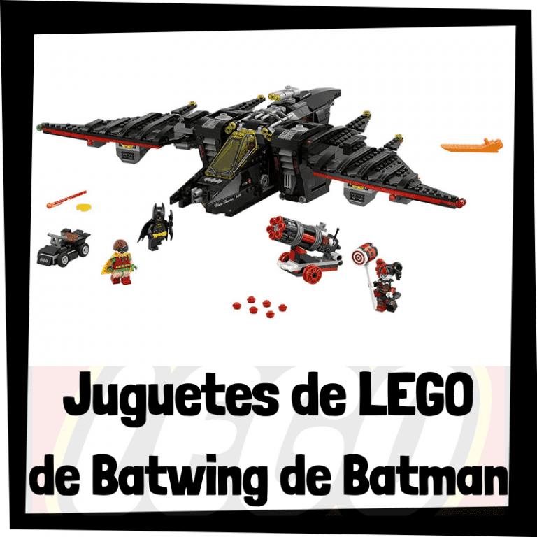 Lee más sobre el artículo Juguetes de LEGO del Batwing de Batman