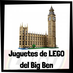 Juguetes de LEGO del Big Ben