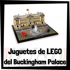 Juguetes de LEGO del Palacio de Buckingham