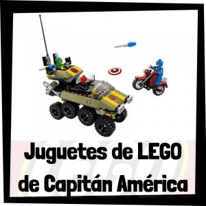 Juguetes de LEGO del Capitán América