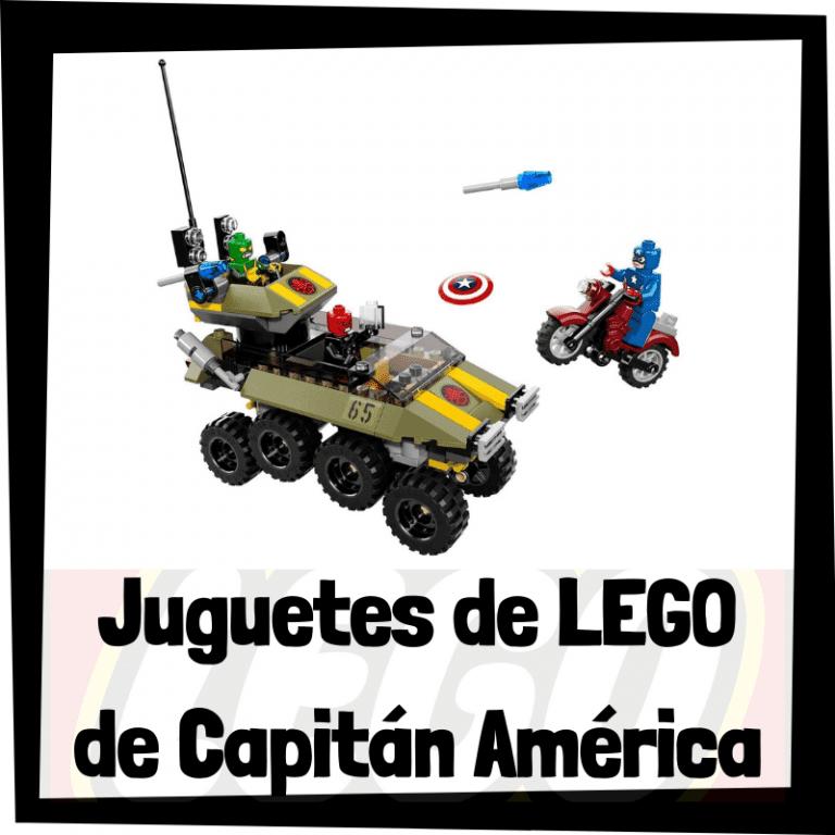 Lee más sobre el artículo Juguetes de LEGO del Capitán América