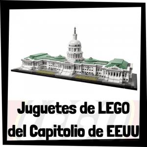 Juguetes de LEGO del Capitolio de los Estados Unidos