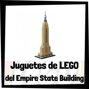 Juguetes de LEGO del Empire State Building