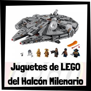 Juguetes de LEGO del Halcón Milenario