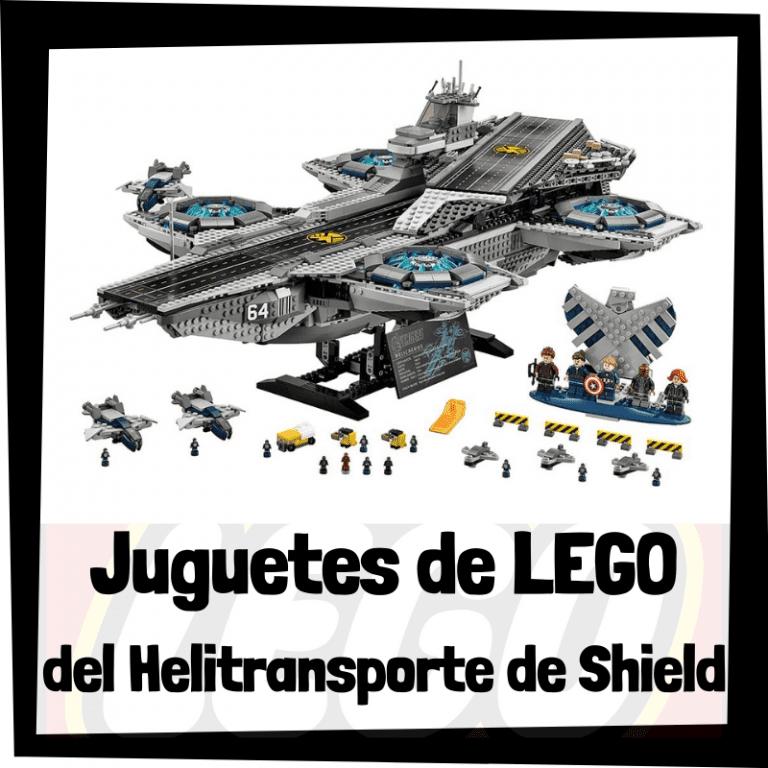 Lee más sobre el artículo Juguetes de LEGO del Helitransporte de Shield
