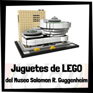 Juguetes de LEGO del Museo Solomon R. Guggenheim