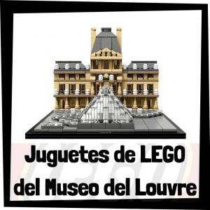 Juguetes de LEGO del Museo del Louvre