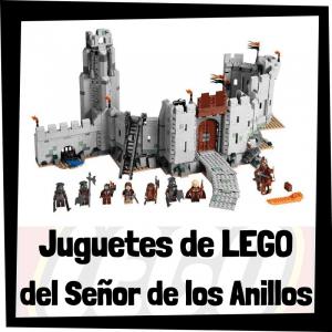 Juguetes de LEGO del Señor de los Anillos