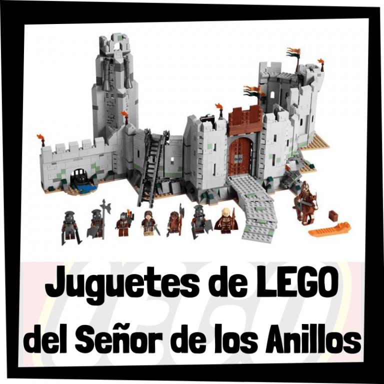 Lee más sobre el artículo Juguetes de LEGO del Señor de los Anillos