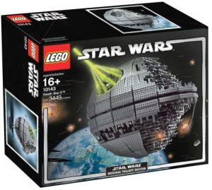 La estrella de la muerte de LEGO Star Wars - Juguete de construcción de LEGO de la Estrella de la Muerte 10143