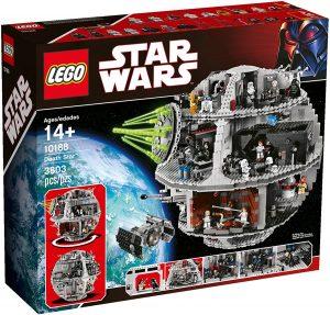 La estrella de la muerte de LEGO Star Wars - Juguete de construcción de LEGO de la Estrella de la Muerte 10188