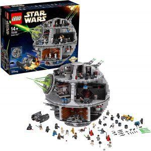 La estrella de la muerte de LEGO Star Wars - Juguete de construcción de LEGO de la Estrella de la Muerte 75159