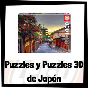 Los mejores puzzles y puzzles en 3D de Japón