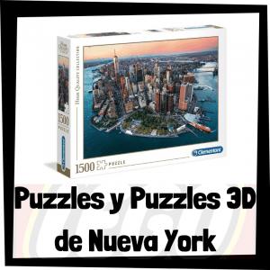Los mejores puzzles y puzzles en 3D de Nueva York