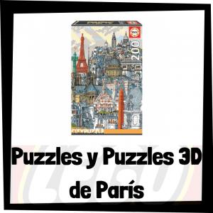 Los mejores puzzles y puzzles en 3D de París