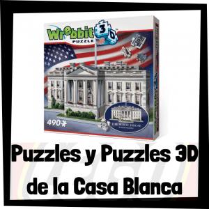 Los mejores puzzles y puzzles en 3D de la Casa Blanca