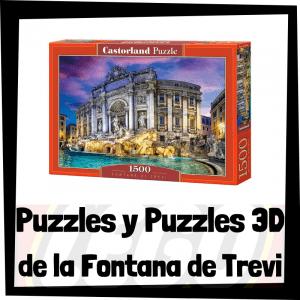Los mejores puzzles y puzzles en 3D de la Fontana de Trevi