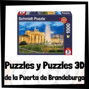 Los mejores puzzles y puzzles en 3D de la Puerta de Brandeburgo de Berlín en Alemania
