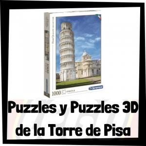Los mejores puzzles y puzzles en 3D de la Torre de Pisa en Italia