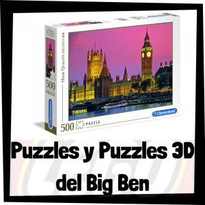 Los mejores puzzles y puzzles en 3D del Big Ben de Londres