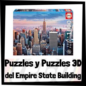 Los mejores puzzles y puzzles en 3D del Empire State Building de Nueva York