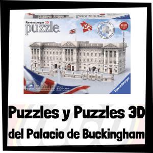 Los mejores puzzles y puzzles en 3D del Palacio de Buckingham