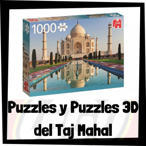 Los mejores puzzles y puzzles en 3D del Taj Mahal