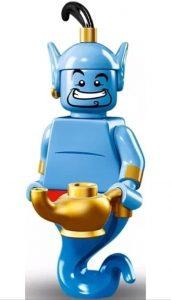 Muñecos de Aladdin de Disney - Figura del Genio de la Lámpara de LEGO