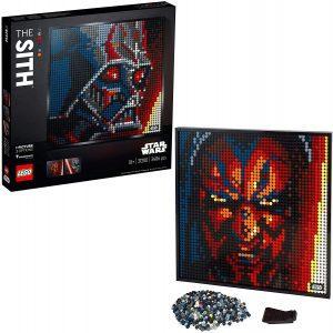 Sets de LEGO Art Póster de Coleccionistas - Juguete de construcción de LEGO ART de Star Wars de los Sith 31200