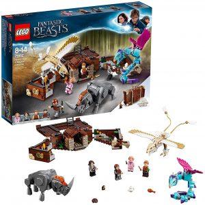 Sets de LEGO de Animales Fantásticos de Harry Potter - Juguete de construcción de LEGO de Animales Fantásticos 75952 Maleta de Criaturas Mágicas de Newt