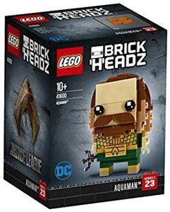 Sets de LEGO de Aquaman - Juguete de construcción de LEGO de Aquaman de DC de Aquaman BrickHeadz 41600