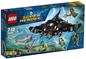 Sets de LEGO de Aquaman - Juguete de construcción de LEGO de Aquaman de DC de Ataque de Black Manta 76095