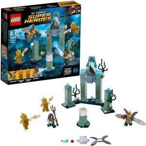 Sets de LEGO de Aquaman - Juguete de construcción de LEGO de Aquaman de DC de Batalla en Atlantis 76085 de la Liga de la Justicia