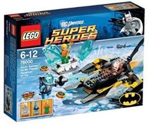 Sets de LEGO de Aquaman - Juguete de construcción de LEGO de Aquaman de DC de Batman vs Mr. Freeze en Atlantis 76000