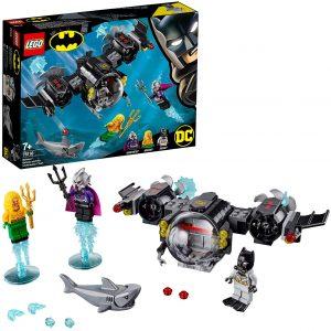 Sets de LEGO de Aquaman - Juguete de construcción de LEGO de Aquaman de DC de Batsubmarino de Batman y el Combate Bajo el Agua 76116