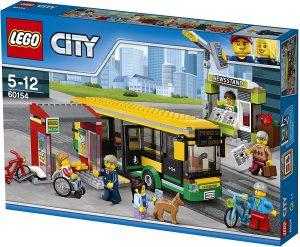 Sets de LEGO de Autobuses - Juguete de construcción de LEGO City de Estación de Autobuses 60154