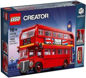 Sets de LEGO de Autobuses - Juguete de construcción de LEGO Creator de Autobús de Londres 10258