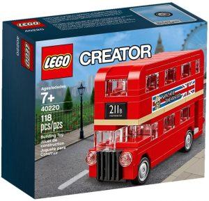 Sets de LEGO de Autobuses - Juguete de construcción de LEGO Creator de Autobús de Londres 40220