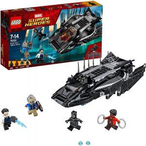Sets de LEGO de Black Panther - Pantera Negra - Juguete de construcción de LEGO de Black Panther vs Erik Killmonger 76100