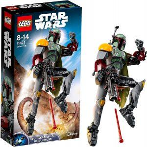 Sets de LEGO de Boba Fett Star Wars - Juguete de construcción de Figura de LEGO de Boba Fett 75533