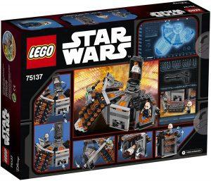 Sets de LEGO de Boba Fett Star Wars - Juguete de construcción de LEGO de Congelacion en Carbonita 75137